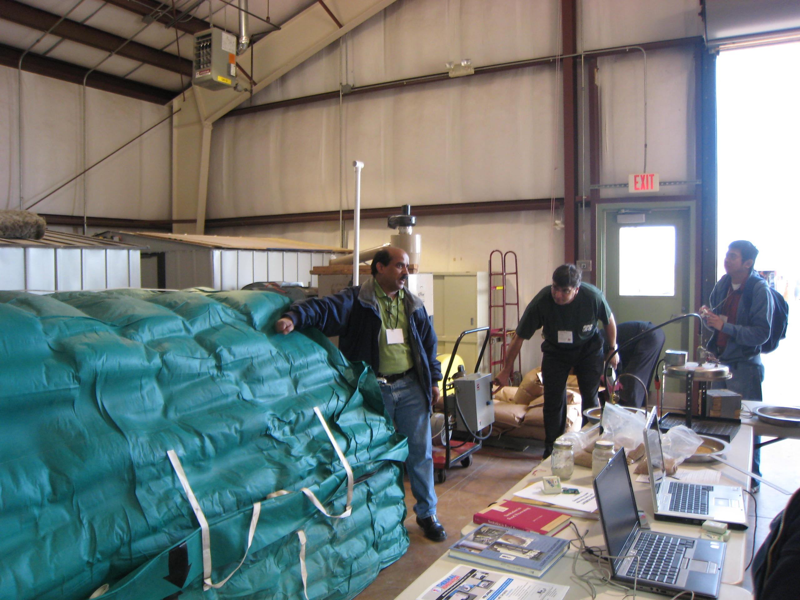 Thermal Remediation scientists conduct research together