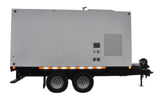 Ebb 40kw Trailer Package Propane Bed Bug Removal Equipment